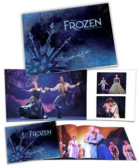 Frozen the Broadway Musical Souvenir Program