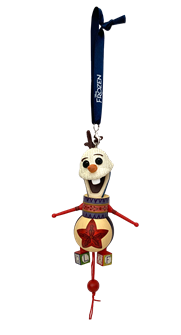 Frozen the Broadway Musical - Toy Olaf Ornament