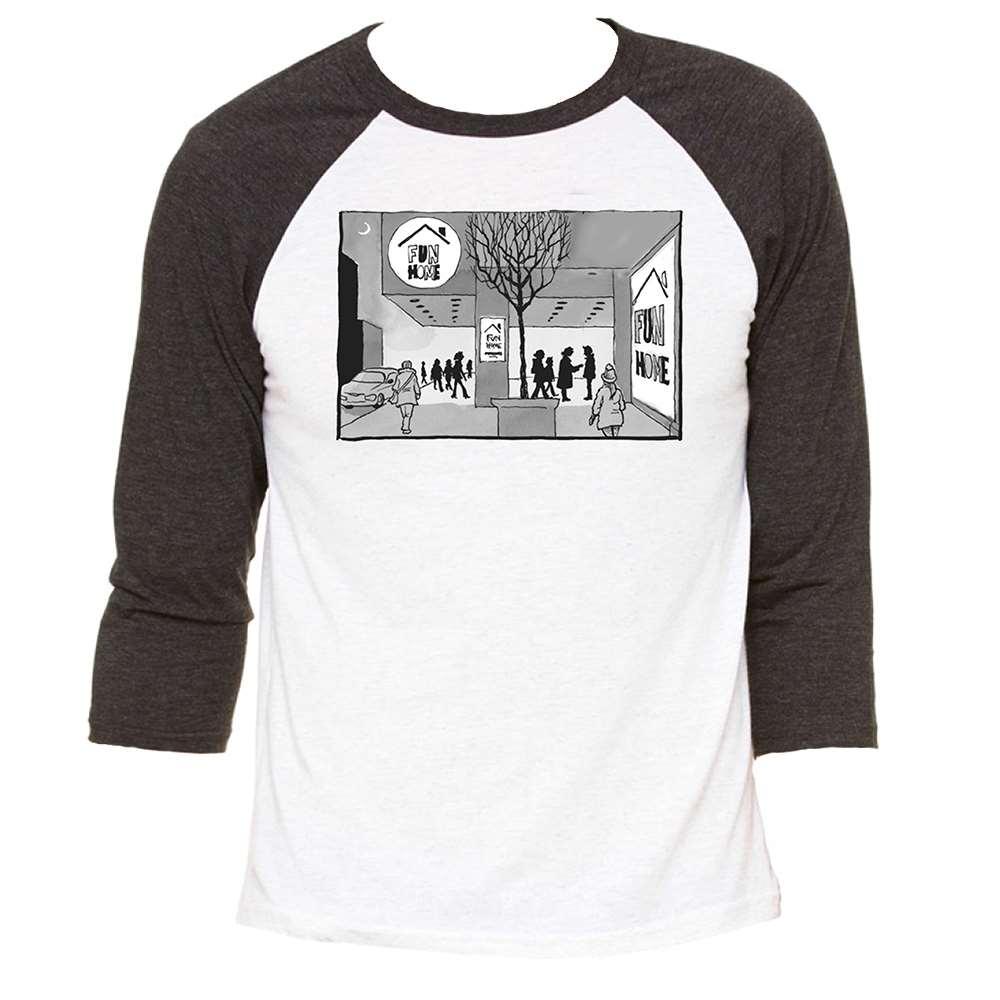 Fun Home Raglan T-Shirt - Fun Home | PlaybillStore com