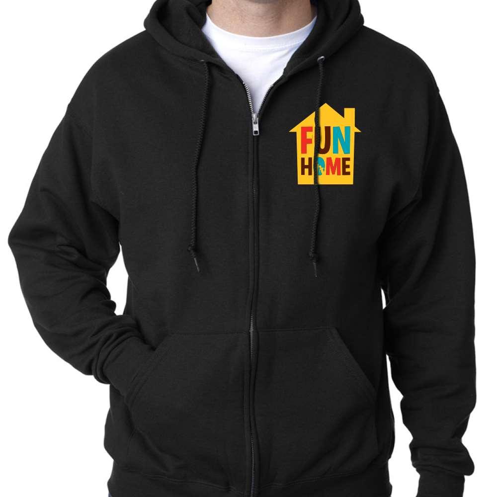 Fun Home Zip Hoodie