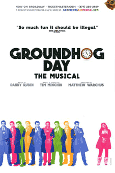 Groundhog Day the Broadway Musical Poster