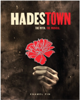 Hadestown the Broadway Musical Lapel Pin