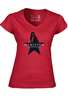 Hamilton the Broadway Musical - Ladies Star V-neck