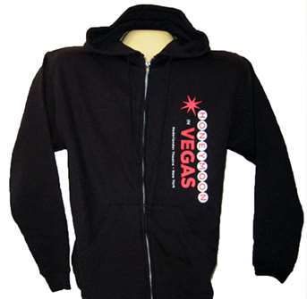 Honeymoon in Vegas the Broadway Musical - Logo Zippered Hoodie