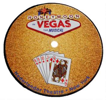 Honeymoon in Vegas the Broadway Musical - Round Logo Magnet
