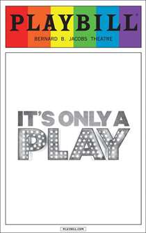 Its Only a Play - June 2015 Playbill with Rainbow Pride Logo