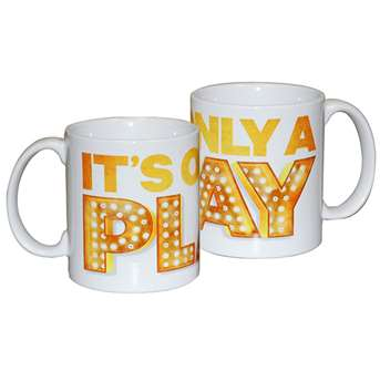 Its Only a Play on Broadway - Logo Coffee Mug