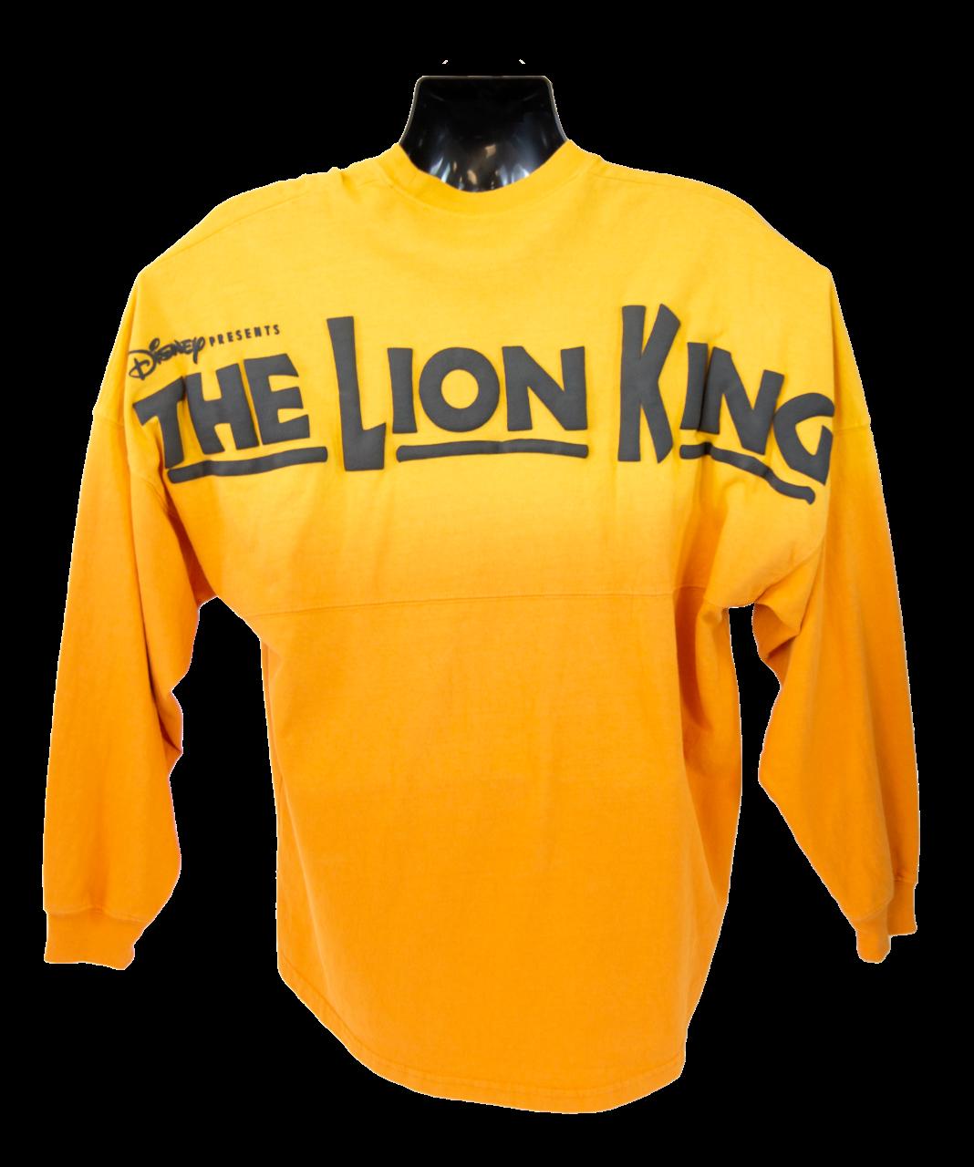 Lion King symbol embroidered spirit jersey