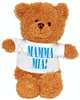 MAMMA MIA! BROWN PLUSH BEAR