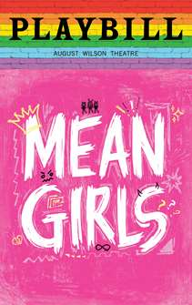 Mean Girls - June 2019 Playbill with Rainbow Pride Logo