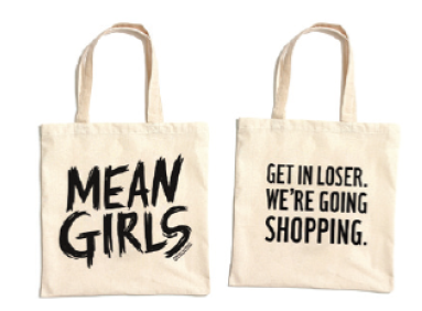 Mean Girls the Broadway Musical Logo Tote Bag