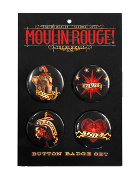 Moulin Rouge! the Broadway Musical - Button Card Set