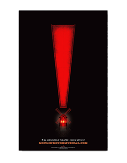 Moulin Rouge! the Broadway Musical - Exclamation Point Poster