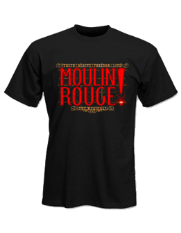 Moulin Rouge! the Broadway Musical Logo T-Shirt