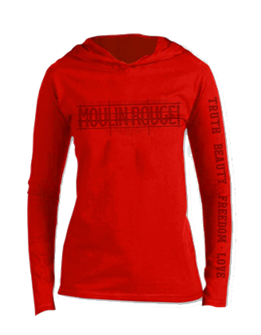 Moulin Rouge! the Broadway Musical Vintage Hoodie