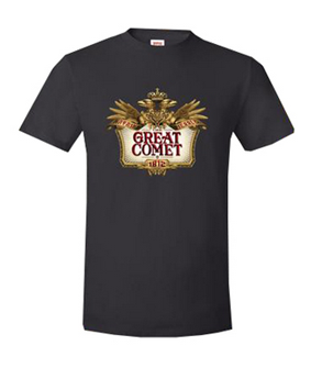 Natasha, Pierre & The Great Comet of 1812 the Broadway Musical - Logo T-Shirt