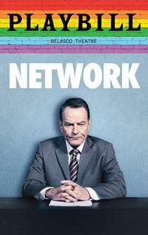 Network - June 2019 Playbill with Rainbow Pride Logo