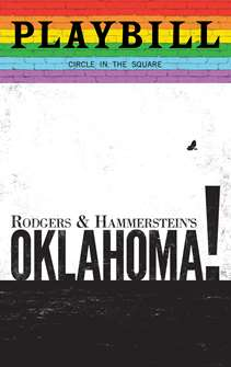Oklahoma! - June 2019 Playbill with Rainbow Pride Logo