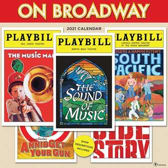 On Broadway: The 2021 Playbill Wall Calendar
