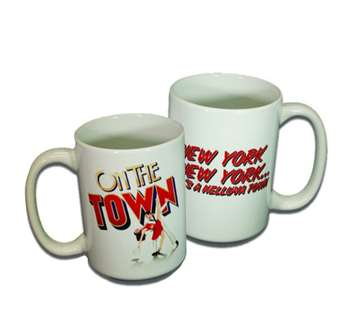 On the Town the Broadway Musical - Logo Coffee Mug