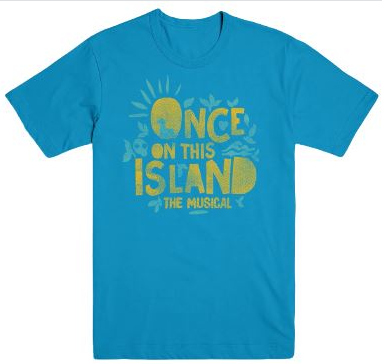 Once On This Island Logo T-Shirt - Once On This Island ... ea0026293