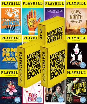 Opening Night Playbill Mystery Box