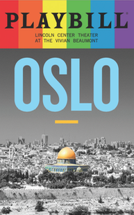 Oslo - June 2017 Playbill with Rainbow Pride Logo