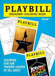 Playbill Broadway Coloring Book V1