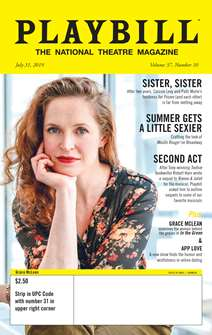 Playbill Magazine Subscription -  1 year: 12 issues  (Foreign Orders)