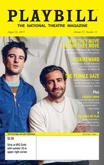 Playbill  Magazine Subscription -  1 year: 12 issues  (USA Only)