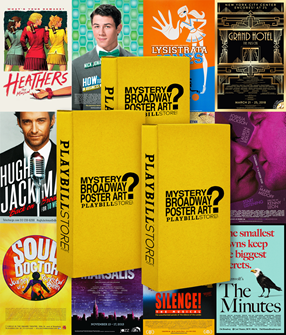 Playbill Mystery Poster Collection