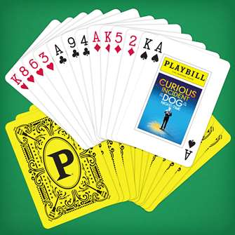 Playbill Playing Cards