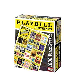Playbill Presents the Best of Broadway Series 4 - 1,000 Piece Jigsaw Puzzle