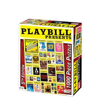 Playbill Presents the Best of Broadway Series 5 - 1,000 Piece Jigsaw Puzzle