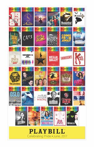 Playbill Pride 2017 Poster - Playbill Pride | PlaybillStore.com