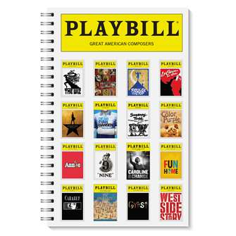 Playbill Spiral Notebook