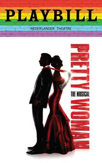 Pretty Woman - June 2019 Playbill with Rainbow Pride Logo