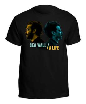 Sea Wall/A Life Black Logo T-Shirt