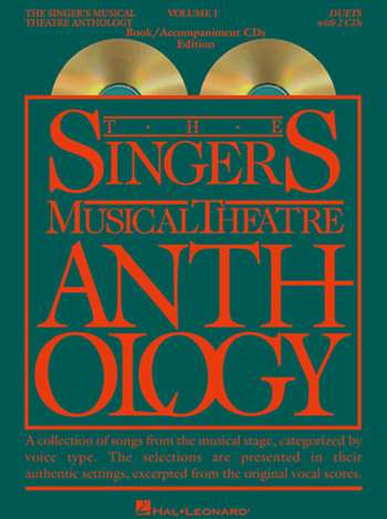 Singer's Musical Theatre Anthology: Duets - Volume 1, with Piano  Accompaniment CDs