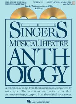 Singers Musical Theatre Anthology:  Mezzo-Soprano/Belt Voice - Volume 2, with Piano Accompaniment CDs