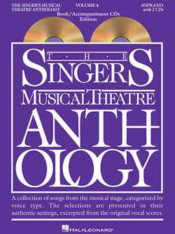 Singers Musical Theatre Anthology: Soprano Voice - Volume 4, with Accompaniment CDs
