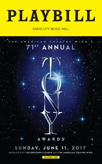 The 2017 Tony Awards Playbill