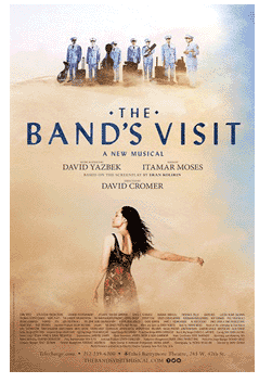 The Bands Visit the Broadway Musical Poster
