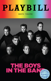 The Boys in the Band Limited Edition Official Opening Night Playbill