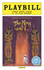 The King and I Limited Edition Official Opening Night Playbill