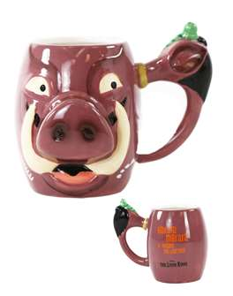 The Lion King the Broadway Musical Pumbaa Mug