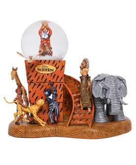The Lion King the Broadway Musical - Circle of Life Snow Globe