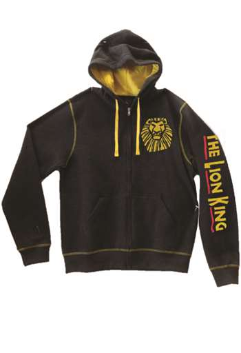 The Lion King The Broadway Musical Heather Zip Hoodie The Lion King Playbillstore Com