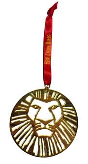 The Lion King the Broadway Musical - Metal Ornament