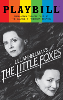 The Little Foxes - June 2017 Playbill with Rainbow Pride Logo